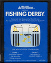 Fishing Derby Atari cartridge scan