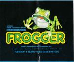 Frogger Atari instructions