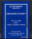 Ghostbusters Atari cartridge scan