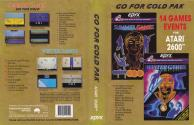 Go for Gold Pak - Summer Games / Winter Games Atari cartridge scan