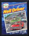 Hell Driver Atari cartridge scan