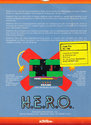 H.E.R.O. Atari cartridge scan