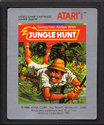 Jungle Hunt Atari cartridge scan