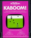 Kaboom! Atari cartridge scan