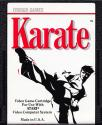 Karate Atari cartridge scan
