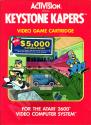 Keystone Kapers Atari cartridge scan