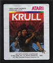 Krull Atari cartridge scan