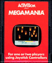 MegaMania Atari cartridge scan