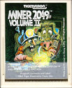 Miner 2049er Volume II Atari cartridge scan
