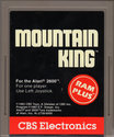 Mountain King Atari cartridge scan