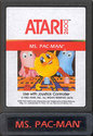 Ms. Pac-Man Atari cartridge scan