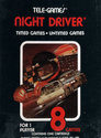 Night Driver Atari cartridge scan