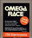 Omega Race Atari cartridge scan