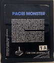 Pacri Monster Atari cartridge scan