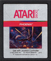Phoenix Atari cartridge scan