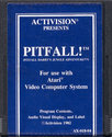 Pitfall! - Pitfall Harry's Jungle Adventure Atari cartridge scan