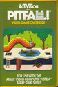 Pitfall! Atari cartridge scan