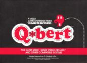 Q*bert Atari instructions