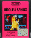 Riddle of the Sphinx Atari cartridge scan