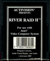 River Raid II Atari cartridge scan