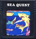 Sea Quest Atari cartridge scan