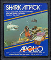 Shark Attack Atari cartridge scan