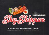 Sky Skipper Atari instructions