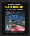 Slot Racers Atari cartridge scan