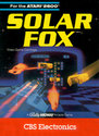 Solar Fox Atari cartridge scan