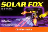 Solar Fox Atari instructions