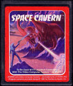 Space Cavern Atari cartridge scan