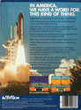 Space Shuttle - A Journey into Space Atari cartridge scan