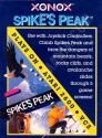 Spike's Peak Atari cartridge scan