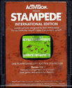 Stampede Atari cartridge scan