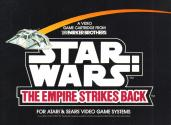 Star Wars - The Empire Strikes Back Atari instructions