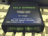 Stellar Track Atari cartridge scan