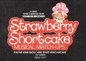 Strawberry Shortcake - Musical Match-Ups Atari instructions