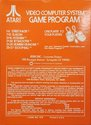 Street Racer Atari cartridge scan