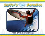 Surfer's Paradise But Danger Below! Atari instructions
