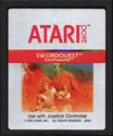 SwordQuest - EarthWorld Atari cartridge scan