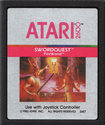 SwordQuest - FireWorld Atari cartridge scan