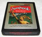 SwordQuest - WaterWorld Atari cartridge scan