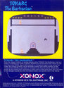 Tomarc the Barbarian Atari cartridge scan