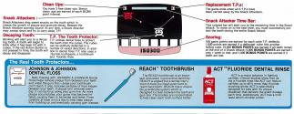 Tooth Protectors Atari instructions
