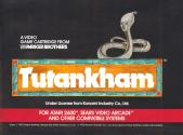 Tutankham Atari instructions