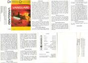 Vanguard Atari instructions