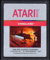 Vanguard Atari cartridge scan