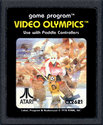 Video Olympics Atari cartridge scan