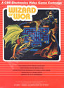 Wizard of Wor Atari cartridge scan