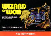 Wizard of Wor Atari instructions